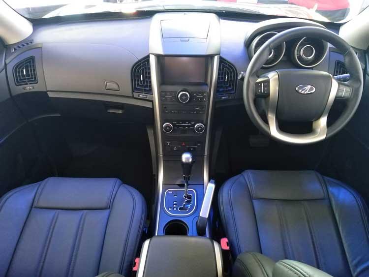 CMH Mahindra - Mahindra XUV 500 interior