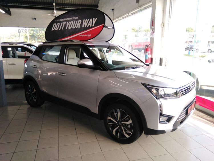 Mahindra XUV300 within the Dealership in Pinetown