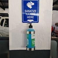 CMH Mahindra Pinetown - Showroom Hand Sanitizer