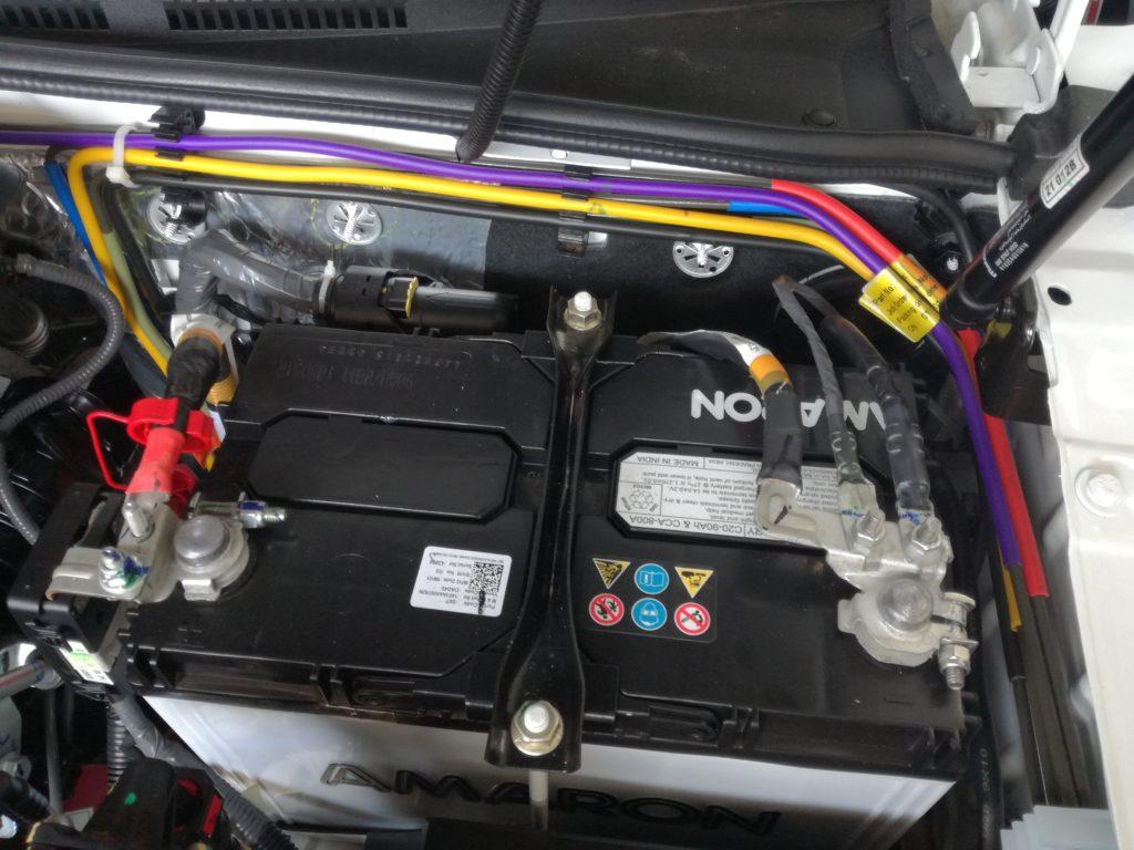 Vehicle Maintenance Battery Check